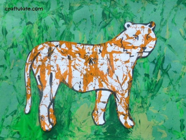 Tiger Craft for KidsTiger Image For Kids