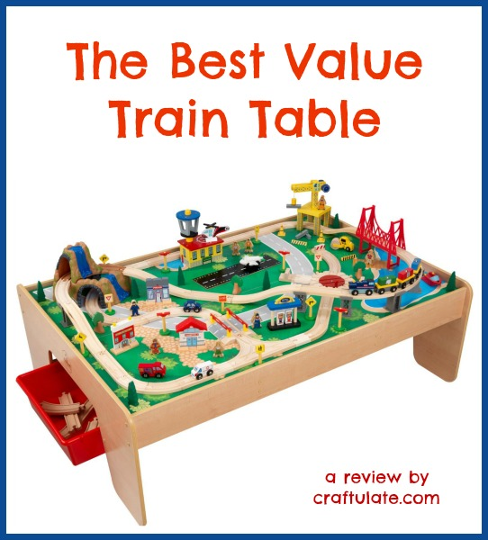 The Best Value Train Table by Craftulate