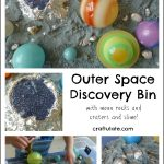 Outer Space Discovery Bin