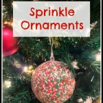 Sprinkle Ornaments