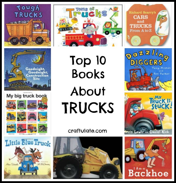 Top 10 Books About Trucks from Craftulate