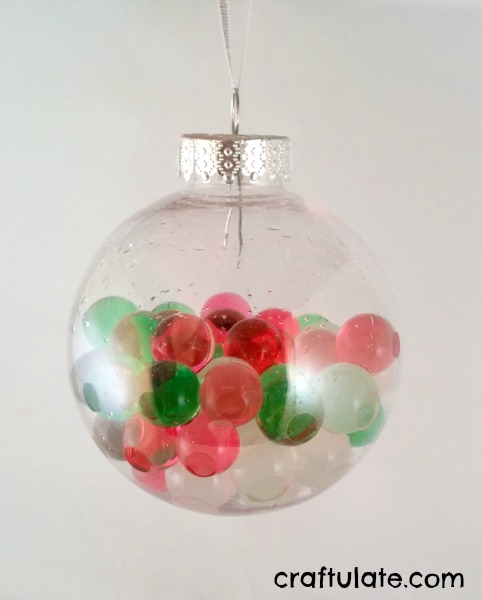 Water bead ornaments craftulate