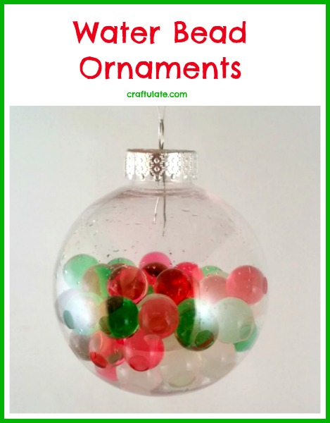 Water Bead Ornaments by Craftulate