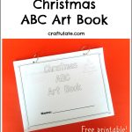 Christmas ABC Art Book
