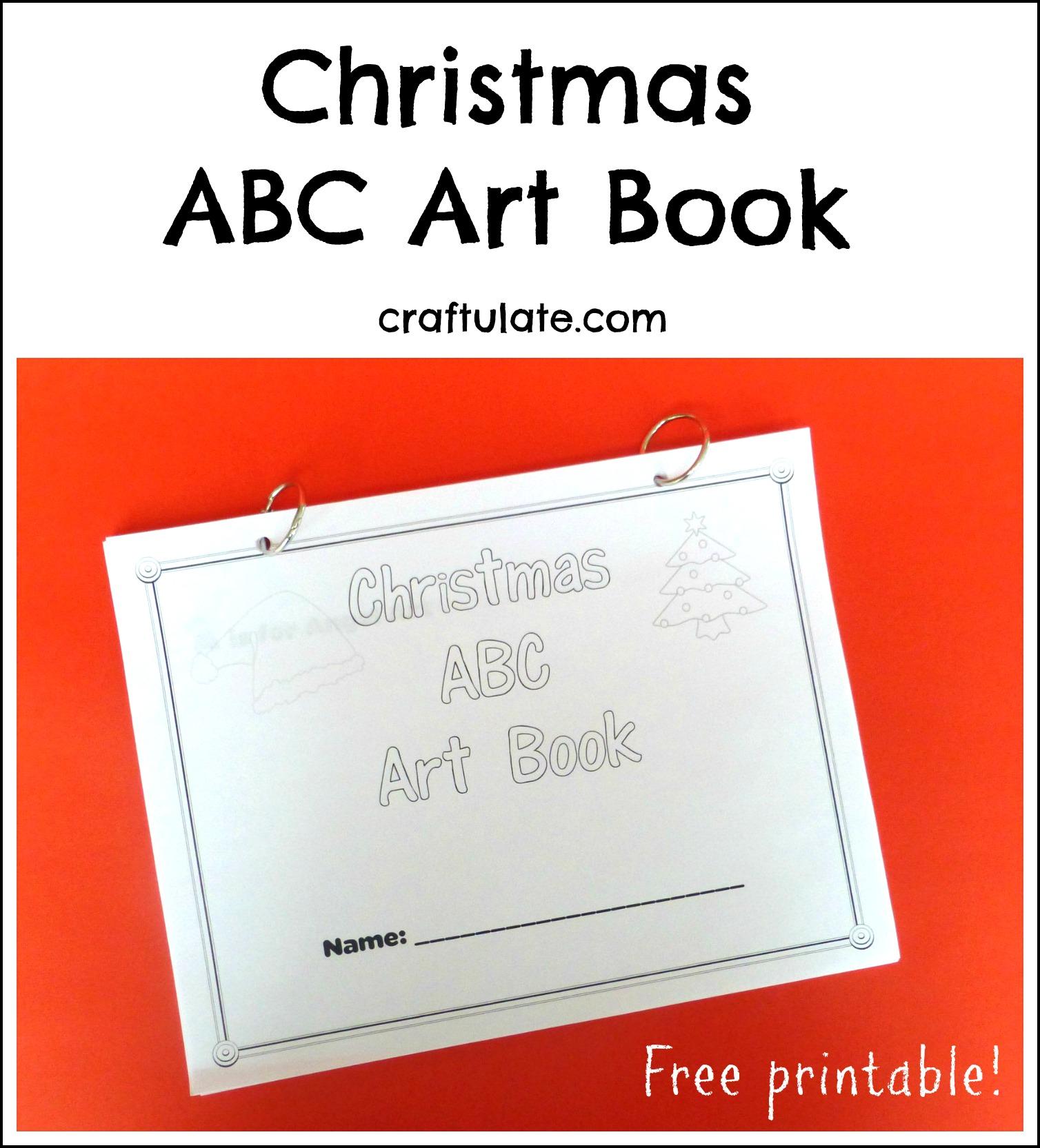 Christmas Abc Art Book