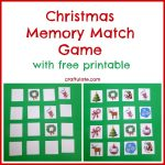 Christmas Memory Match Game