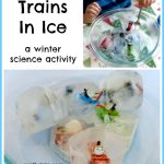 Trains In Ice – a winter science activity
