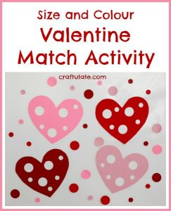 Valentine Match Activity