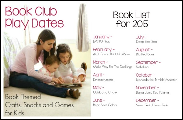 Book Club Play Dates