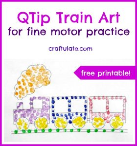 19 Train Themed Free Printables - Craftulate