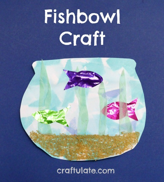 Fishbowl Craft from Craftulate