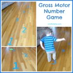 Gross Motor Number Game