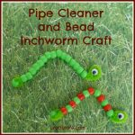 Pipe Cleaner and Bead Inchworm Craft