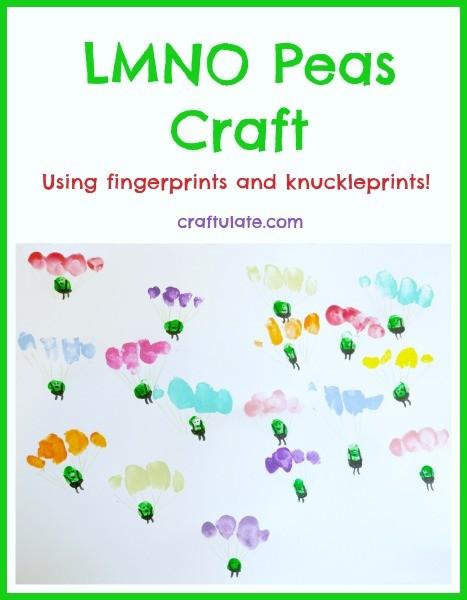 LMNO Peas Craft from Craftulate