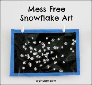 mess-free-snowflake-art