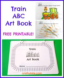 train-abc-art-book