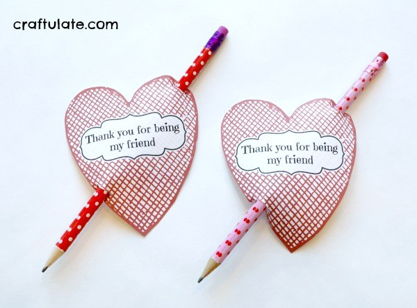 Valentine Classroom Gifts for Preschoolers from Craftulate