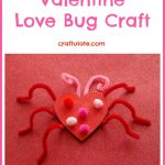 Valentine Love Bug Craft