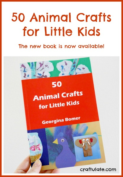50 Animal Crafts - the book from Craftulate