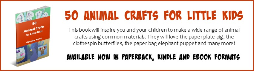 50 Animal Crafts for Little Kids