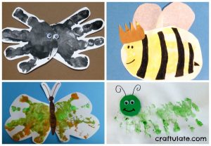 10 Bug Crafts and Activities from Craftulate