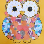 Owl Collage for kids to make