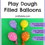Play Dough Filled Balloons