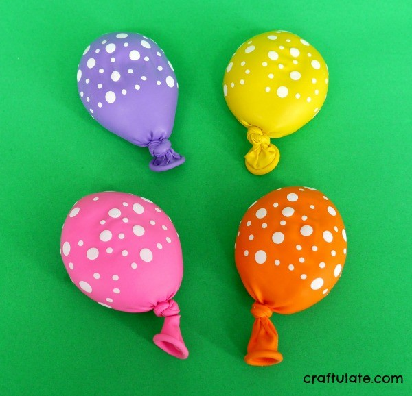 Play Dough Filled Balloons - great for fine motor hand strengthening and fidgets!