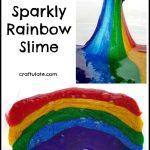 Sparkly Rainbow Slime