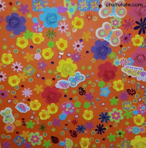 Spring Sticker Collage