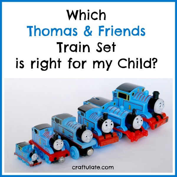 Which Thomas and Friends Train Set is Right for my Child  Craftulate