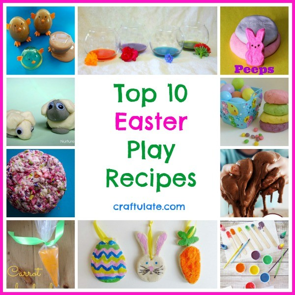Top 10 Easter Play Recipes from Craftulate