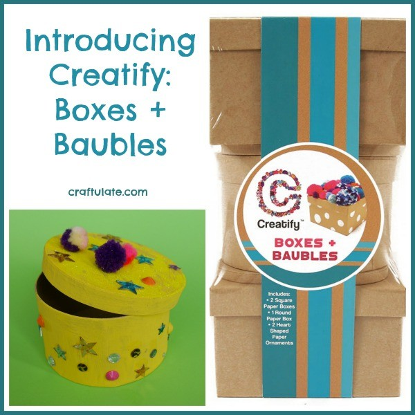 Introducing Creatify: Boxes & Baubles