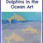 Dolphins in the Ocean Art