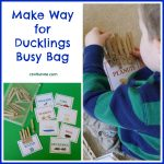 Make Way for Ducklings Busy Bag