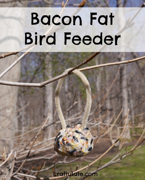 Bacon Fat Bird Feeder from Craftulate