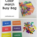 Color Match Busy Bag