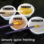 Sensory Spice Painting
