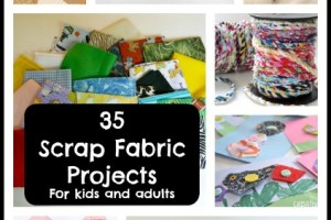 35 Scrap Fabric Projects