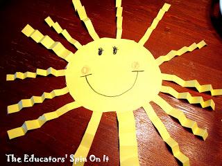 Crinkle Ray Sun