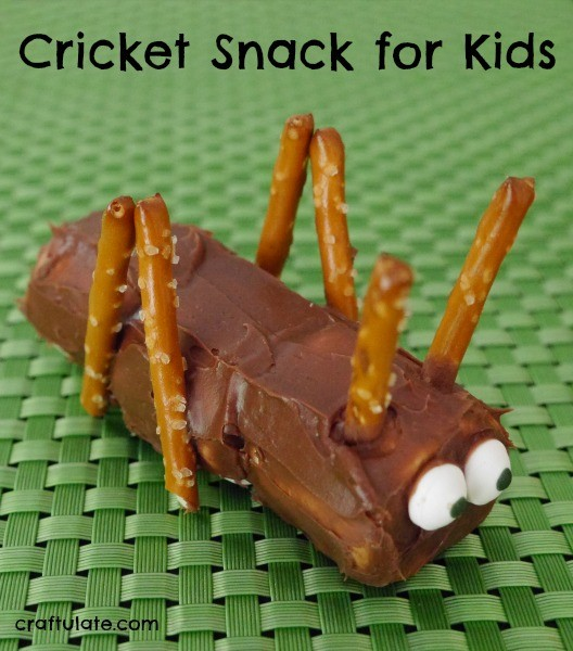 Cricket Snack for Kids - so cute!