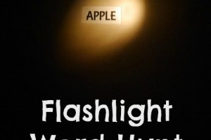 Flashlight Word Hunt
