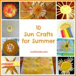10 Sun Crafts for Summer