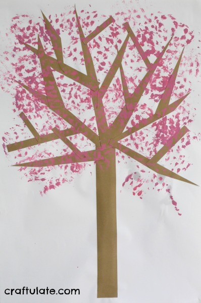 Tree Blossom Craft