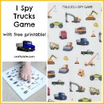 I Spy Trucks Game
