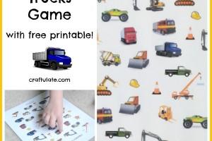 I Spy Trucks Game