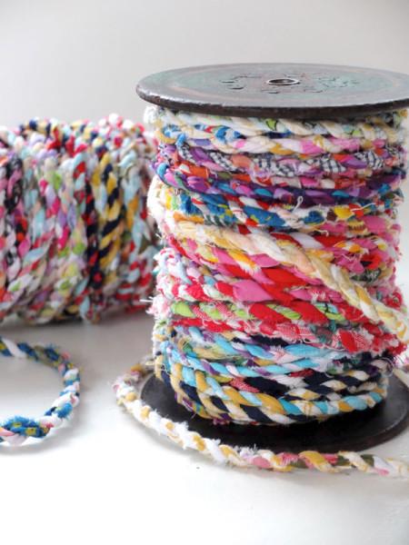 Scrap Fabric Twine