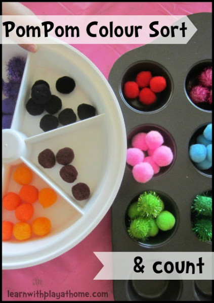 Pompom Colour Sort & Count