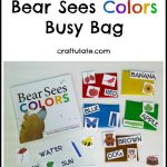 Bear Sees Colors Busy Bag