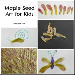 Maple Seed Art for Kids